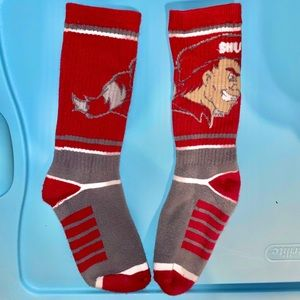 NWOT Sacred Heart University Crew Socks